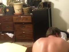 Massive Dildo Machine Fucks Guy to Prostate Orgasm and Gape