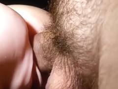 Close Up Fucking My New Pussy Toy with Cum In and On It