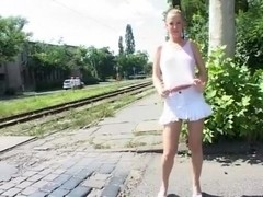 Exotic flashing clip with public scenes 3