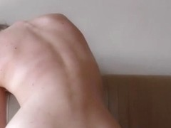 Small 18yo Jete Using Rabbit Full Sized Dildo On My Couch - EuroCoeds