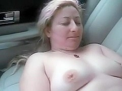 my wife stripped in the back of the car parked at sears