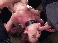 Rough Sex Anal Slave Training - Audrey Holiday - Day Two - TheTrainingofO
