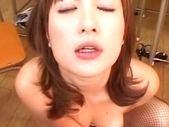 Fabulous Japanese girl in Hottest Cumshot, Stockings JAV scene