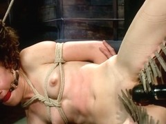 Bonnie Day in Cute Red-Head Tests Her Masochistic Tendencies With Jp The Pope - HogTied
