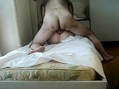 Heavy hardcore fuck on the bed