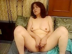 Japanese milf  Kui Somya masturbating and moaning fuck