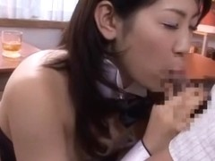 Crazy Japanese model Emi Kitagawa in Exotic Blowjob JAV scene