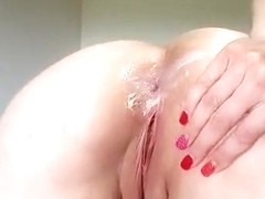 Sorry talking British milf fucking her arse and farting part 2