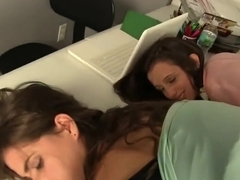 Office Wedgie with Cory Chase, Ashlynn Taylor, and Molly Jane