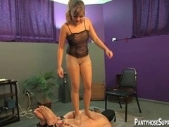 Sexy jock and below foot domination by Femdom-Goddess Missy