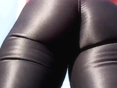 Spandex angel - spandex nylon fun