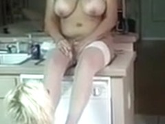 Incredible Big Tits, Kitchen porn movie