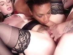 Aiden Starr,Owen Gray,Maya Kendrick,Nikki Darling in Masochistic Anal Sluts Love It All at the BDS.
