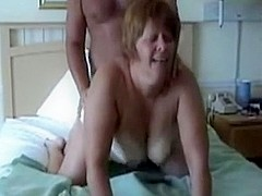 Rough sex action on bed