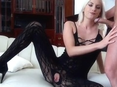 Sexy young blonde hot wet pussy