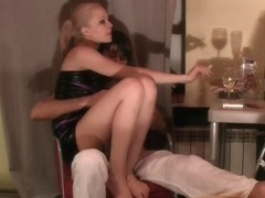Logan in home made sex vid with an aroused guy and a gal