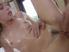 Kristen Scott in Oily Vibes - Lubed