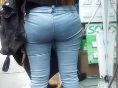 NICE ASS JEANS WALKING - PART 2