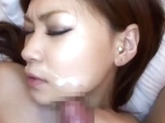 Best Japanese girl Arisa Kuroki in Crazy Lingerie, Blowjob JAV movie