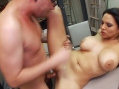 Cum Thirsty Missy Martinez Enjoys Some Dick