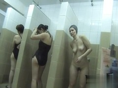 Hidden cameras in public pool showers 386