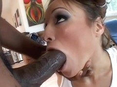 Hottest pornstar Amber Rayne in horny interracial, college xxx video