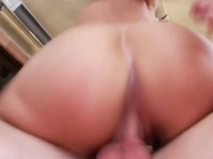 Huge tits and a huge creampie