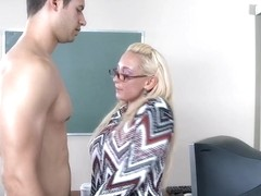 Serena Marcus & Giovanni Francesco in My First Sex Teacher