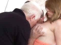 Big Tits Angel Loves A Gangbang