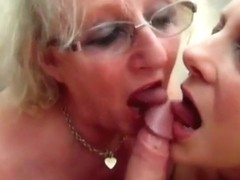 Grannies swap cum