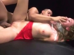 Teen First Time Poor Callie Calypso.