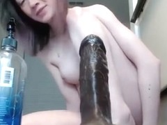 Anal masturbation webcam girl dildo