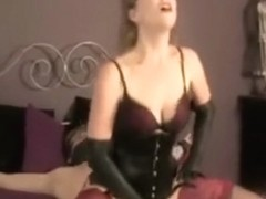 Horny Mistress gives her Slave a ruined Orgasm