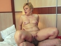 Ursula Grande in The Famous Granny Fucker Video