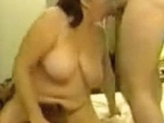 Shared curvy slut wife enjoys interracial gangbang and gets cum in mouth