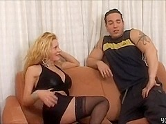 Active tranny enjoys fucking with her bf