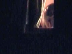 Candid babes getting their panties off in bedroom window voyeur video