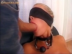 Blonde with incredible round ass bdsm