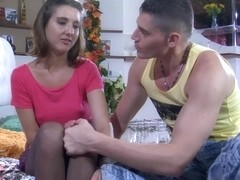 Anal-Pantyhose Video: Madeleine and Claudius