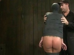 Gia DiMarco & Maestro in If you have a perfect ass & get mummified with your ass sticking upYou're.
