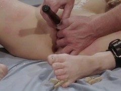 Kinky BDSM With Wax And Toys And Orgasms