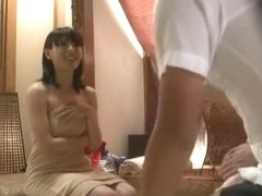 Crazy Japanese whore Akari Minamino in Incredible JAV movie