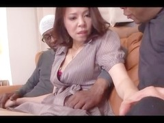 42yr old Wife Misato Shiraishi Bonks three BBCs (Uncensored)