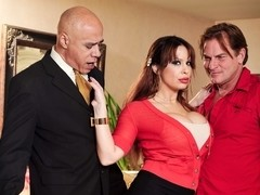 Alyssa Lynn & Evan Stone in Seduced By The Boss's Wife #04, Scene #02