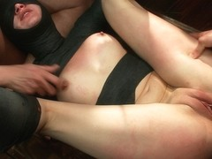 Tall Blonde Amateur Gets Fucked While Wearing Blackout Contact Lenses - She Can'T See A Thing - Pu.