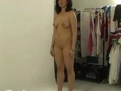Cute czech amateur in sexy backstage clip