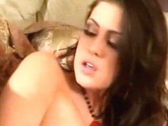 Tight Brunette With Pierced Clit Gets Fucked