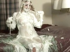 Holly slimed and pied