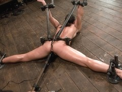 Wenona in Wenona Former Gymnast ass hooked to hell - DeviceBondage