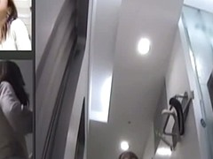 An incredible upskirt voyeur spy cam video collection